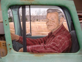 Lloyd Dugger Portrait (detail)