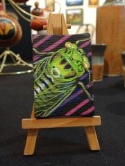 """Cicada"" Miniature painting (Available) $20"