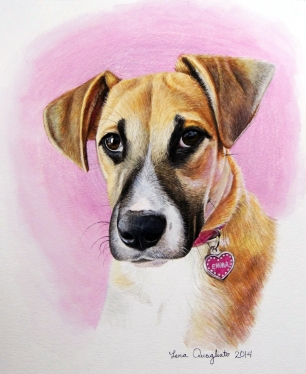 """Emma"", watercolor"