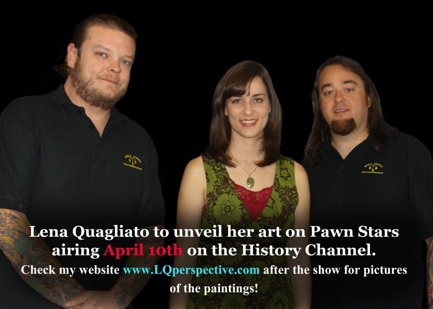 Pawn Stars Artist.
